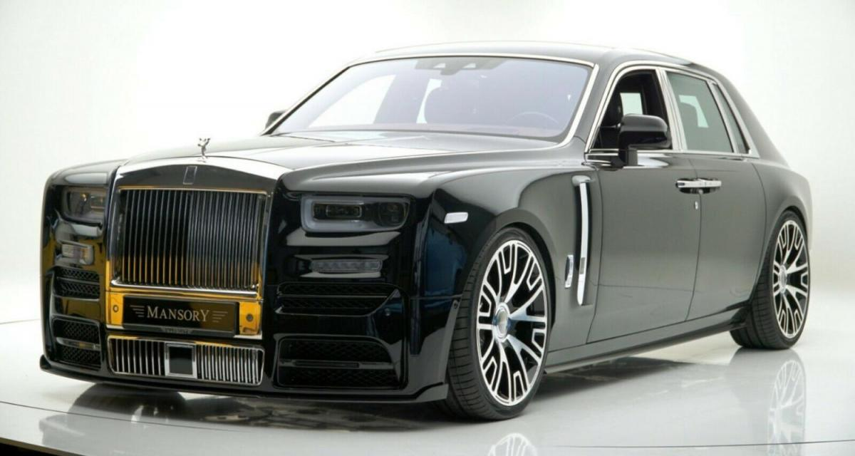 Mansory Phantom VIII : une Rolls-Royce (presque) discrète à vendre
