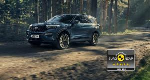 Ford Explorer Plug-In Hybrid : 5 étoiles Euro NCAP
