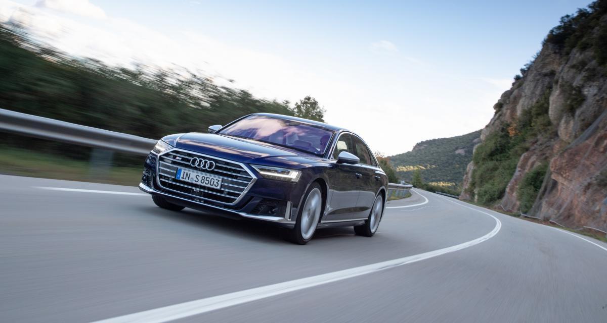 Audi S8 : la limousine sportive en 4 points