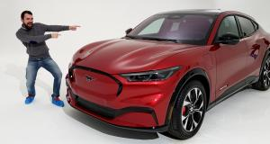 Ford Mustang Mach-E : toutes nos photos et les infos sur le nouveau SUV coupé 100% électrique