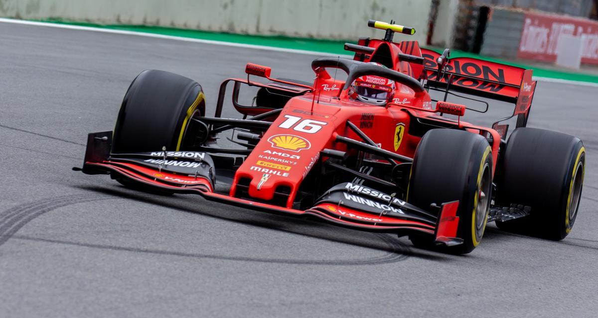 Grand Prix du Brésil de F1 : la belle défense de Leclerc face à Bottas