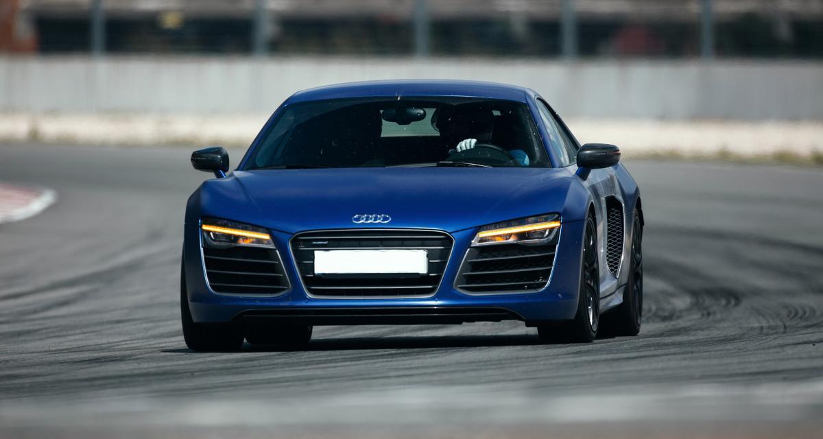 Un chef d'entreprise flashé à 213 km/h en Audi R8 sur une départementale