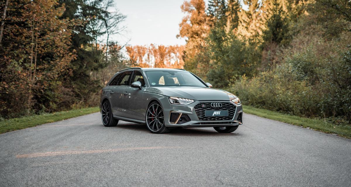 Audi S4 TDI par ABT Sportsline : suspensions et boîtier