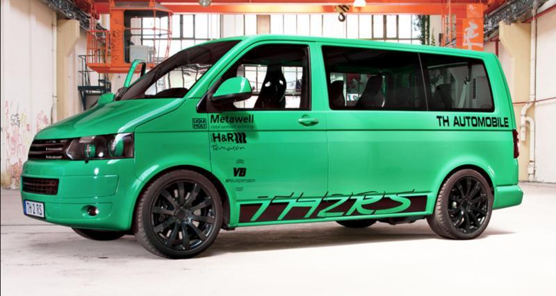 Volkswagen Transporter TH2RS : un van à moteur Porsche de 650 ch à vendre !