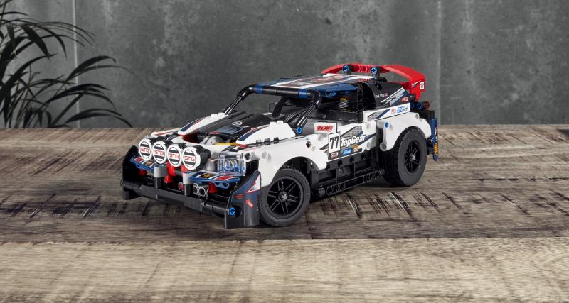 Lego Technic Top Gear Rally Car : quand le jeu de construction prend vie
