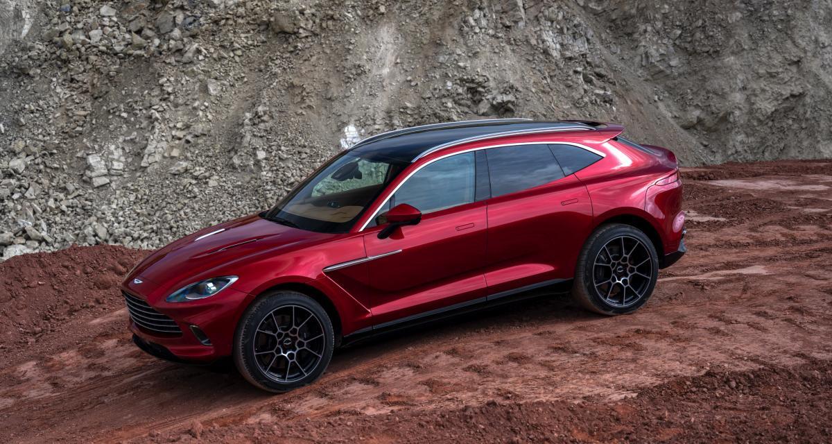 Aston Martin DBX : 550 chevaux pour le 1er SUV de James Bond