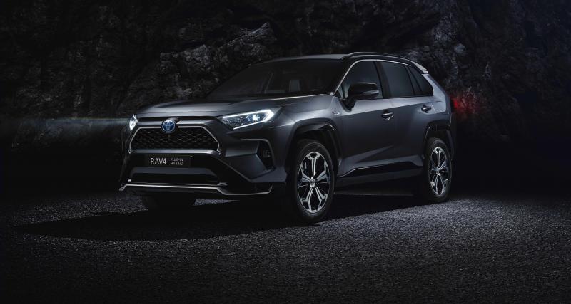 Toyota RAV4 Hybride Rechargeable : première mondiale à L.A.