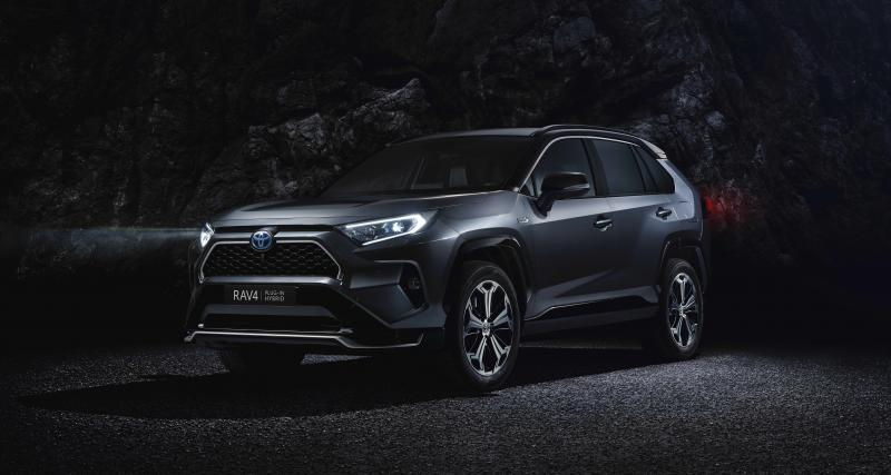 Toyota : Présente son RAV4 hybride rechargeable à Los Angeles