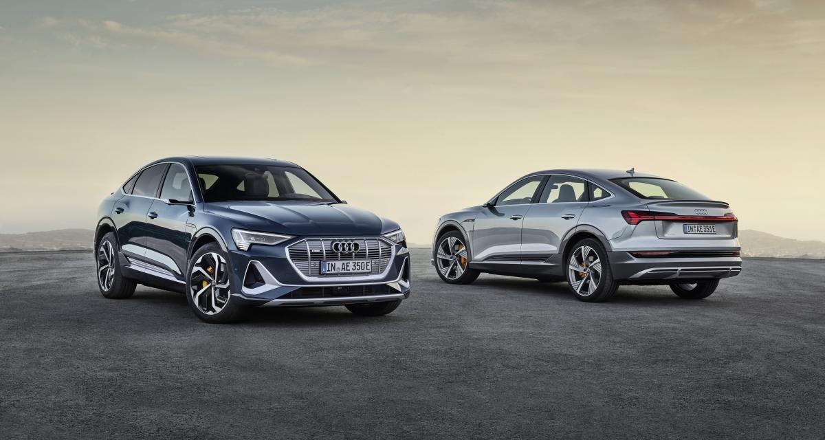 Audi e-tron Sportback : le nouveau SUV coupé 100% électrique débarque à Los Angeles
