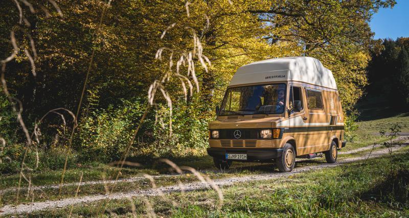 Un camping-car full équipé dès 1984