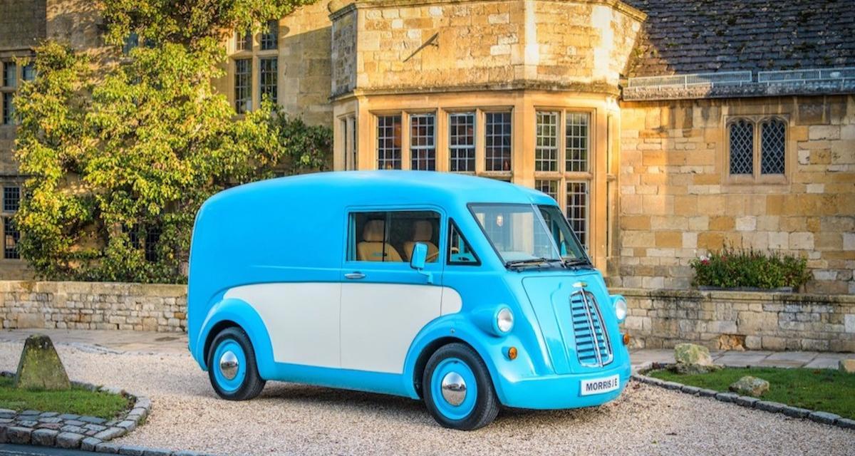 Van électrique Morris Commercial JE : le passé a de l'avenir