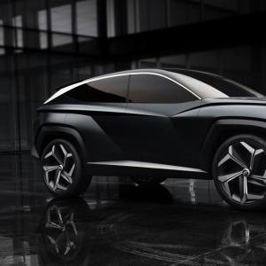 Hyundai Vision T : une calandre presque vivante pour le concept sud-coréen