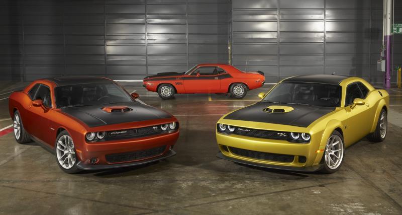 Dodge Challenger 50ème anniversaire : une édition spéciale pour la muscle car