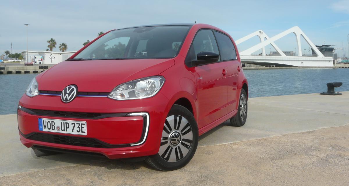 Volkswagen e-up! : nos photos de notre essai de la puce électrique reboostée