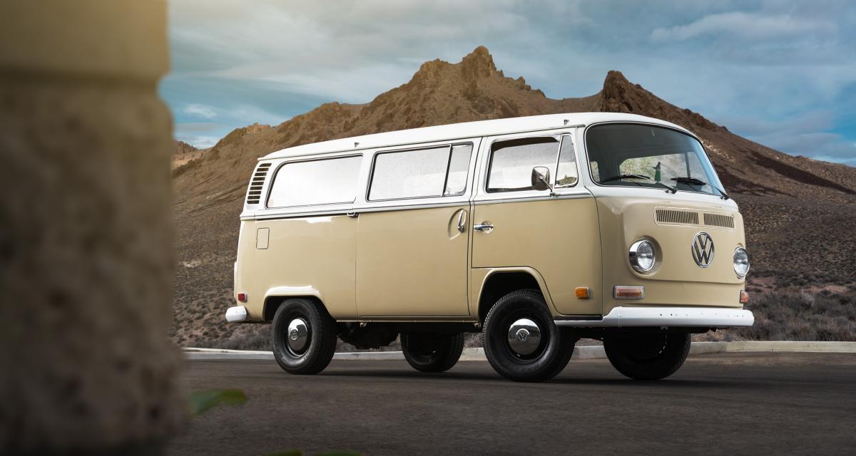 Le Combi passe à l'électrique : le van mythique de Volkswagen en mode rétrofit