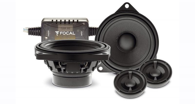 """Les haut-parleurs """"plug and play"""" BMW Focal font peau neuve pour offrir un excellent rapport qualité/prix"""