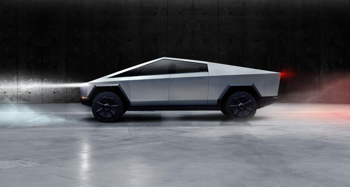 Tesla Cybertruck : le pick-up au design sans filtre