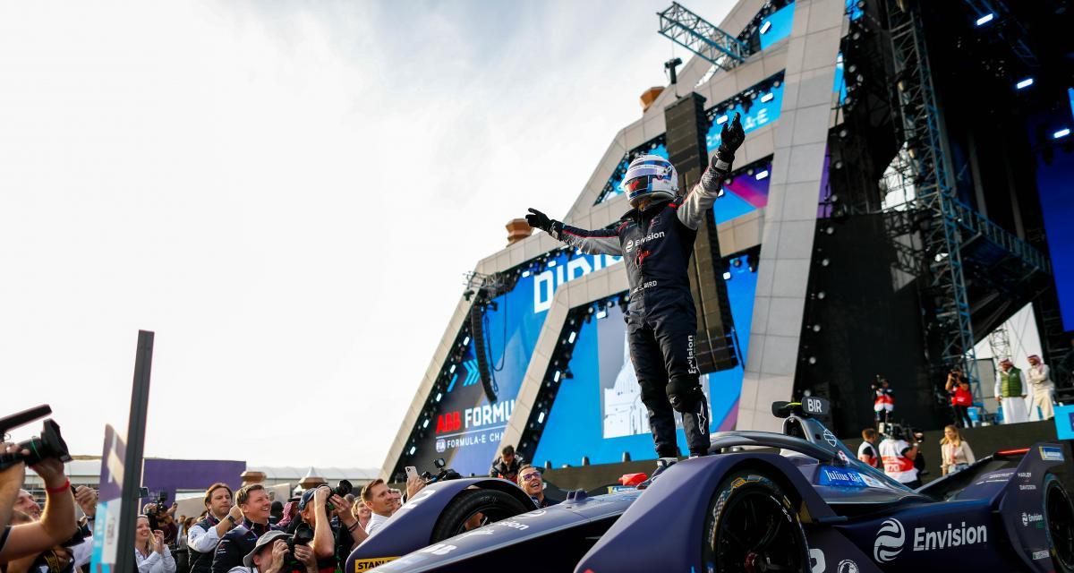 Formule E : victoire pour Bird, abandon pour Vergne, les résultats de la 1ère course