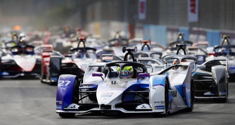 Le classement du ePrix