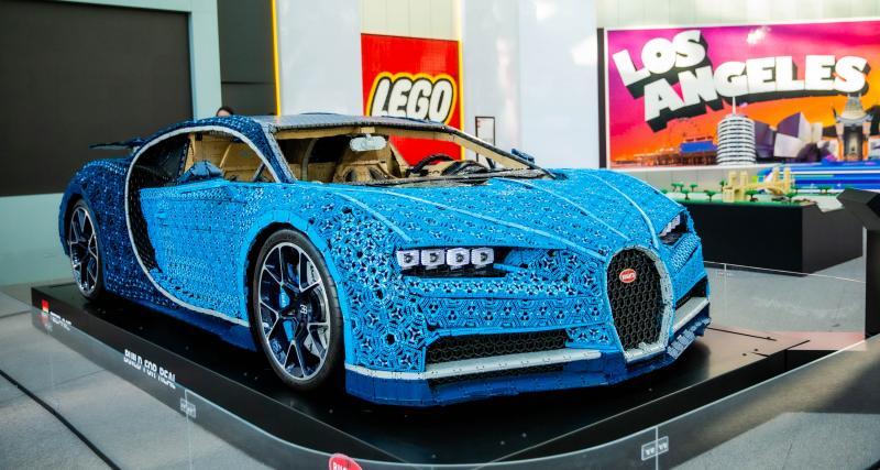 La Bugatti Chiron Lego en photos au LA Auto Show 2019
