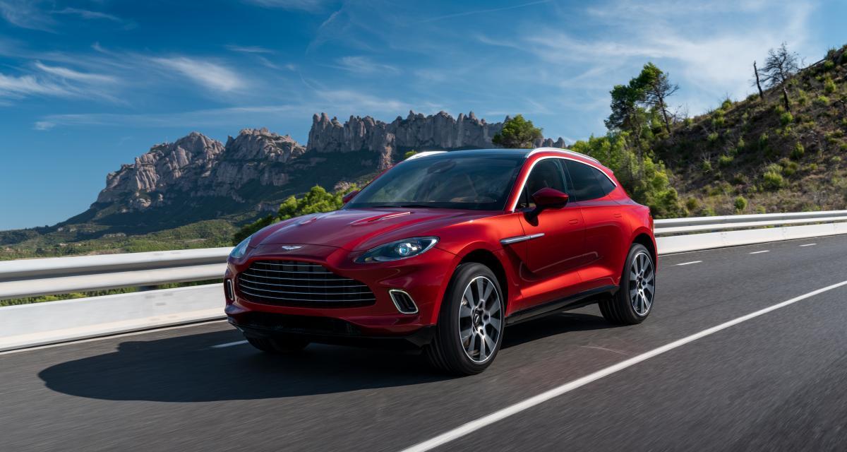 Aston Martin DBX : le SUV sportif en 4 points
