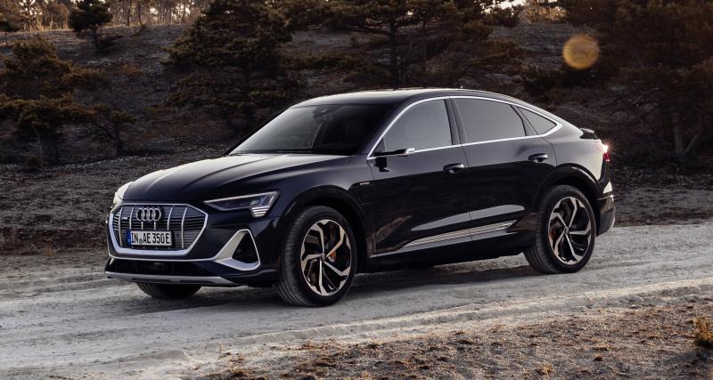Audi e-tron Sportback : le SUV coupé électrique en 4 points
