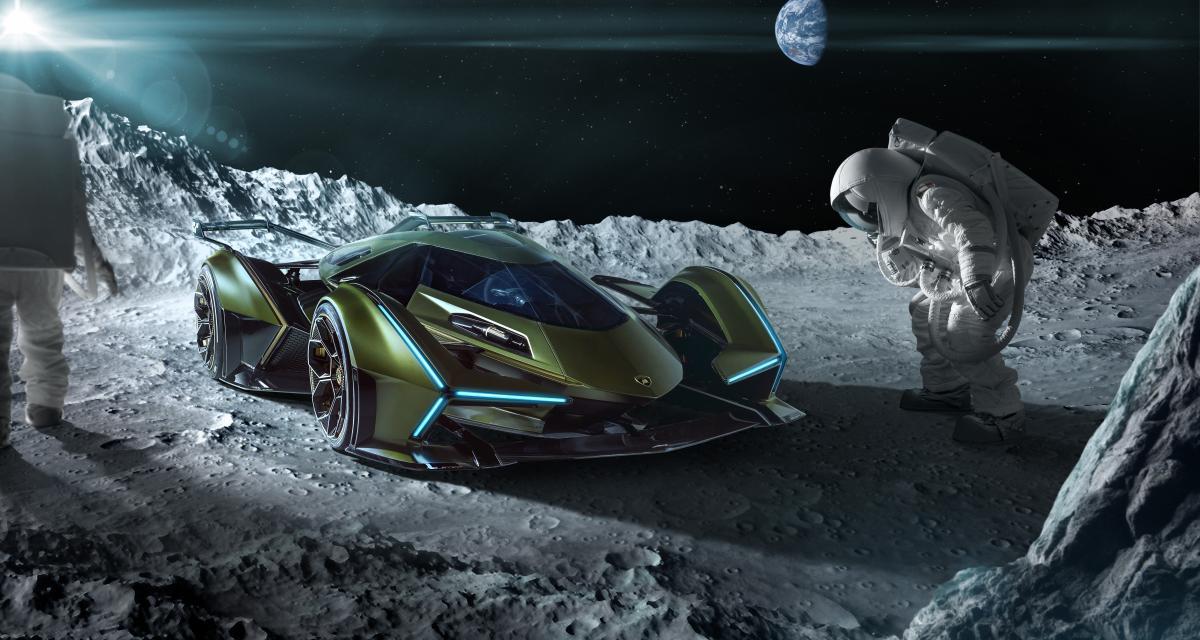 Lamborghini Lambo V12 Vision Gran Turismo : une monoplace sculpturale pour le célèbre jeu vidéo