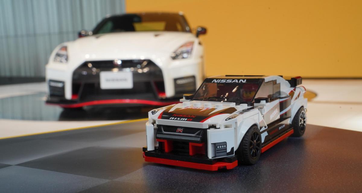 Lego Speed Champions Nissan GT-R : Godzilla en mode petites briques