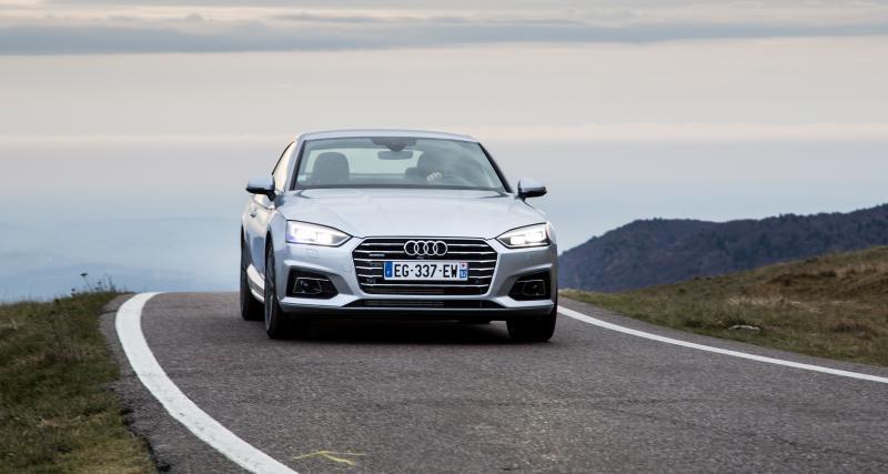 Audi A5 Coupé et Sportback : prix et finitions