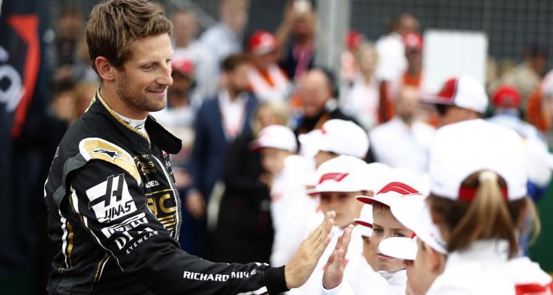 Les résultats de Romain Grosjean à Abou Dabi