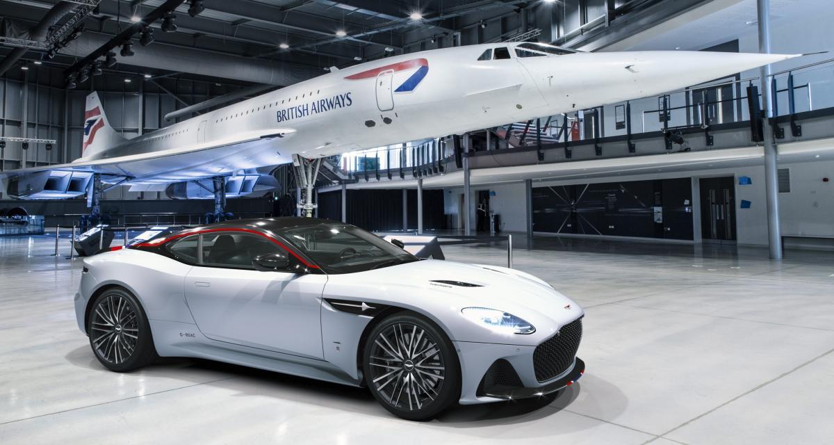 Aston Martin DBS Superleggera: en mode Concorde