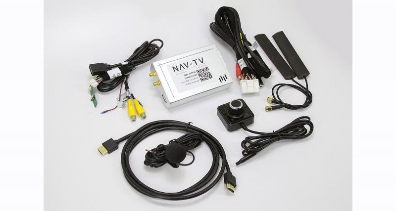 NAV TV dévoile une interface pour connecter son Smartphone sur certains autoradios d'origine