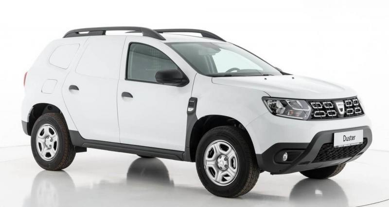 Dacia Duster : le SUV se transforme en utilitaire