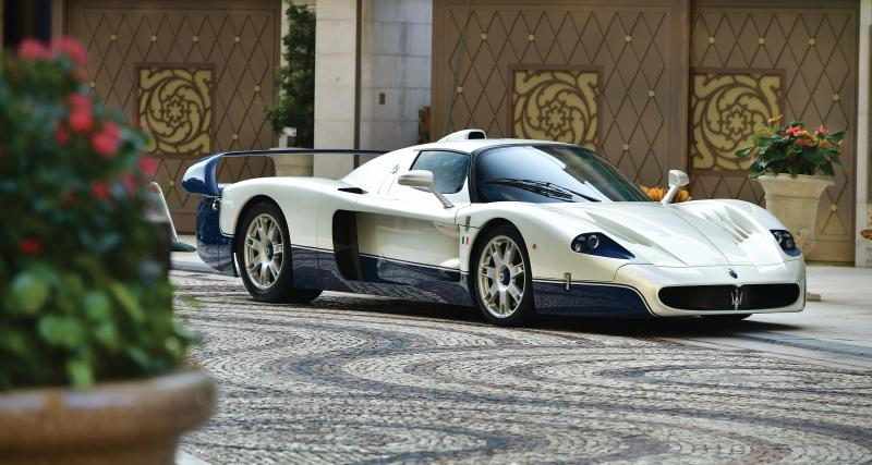 Maserati MC12 : la bombe qui valait 3 millions à vendre aux enchères