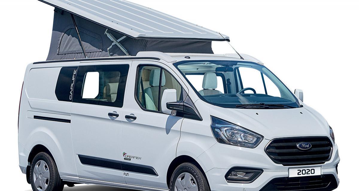 Camping-car Dreamer Cap Life : un van à toit relevable à moins de 41 000 euros