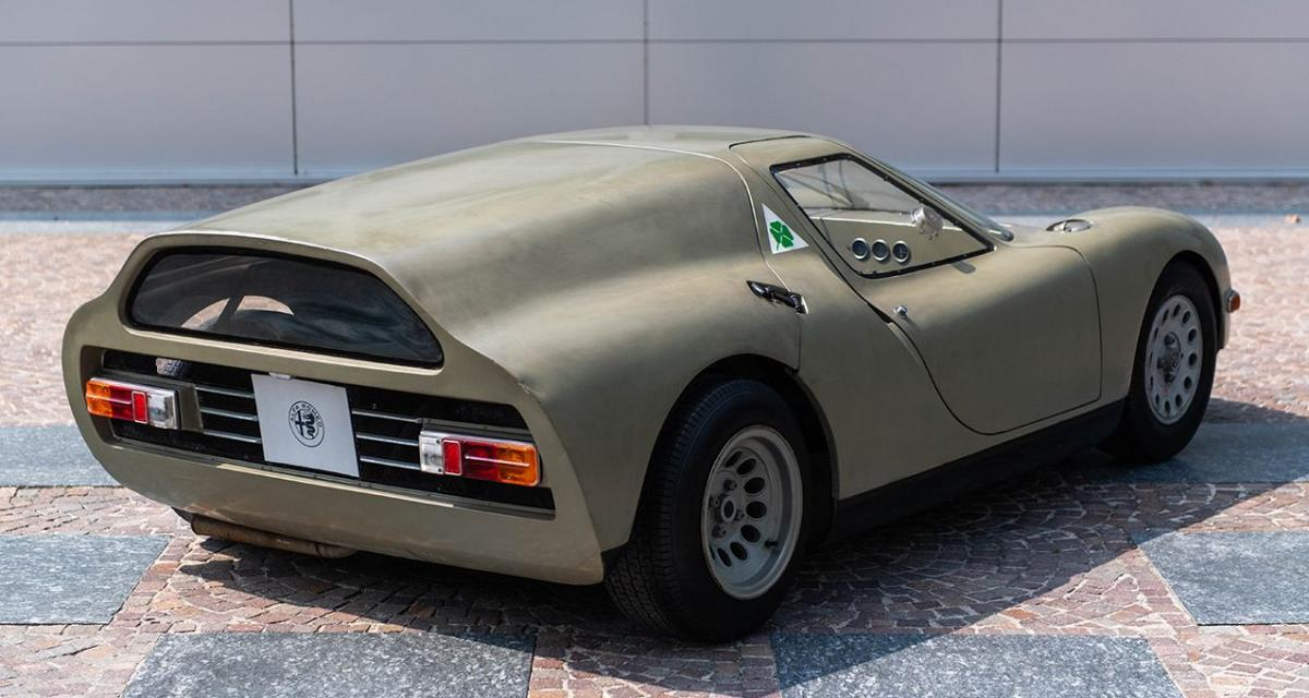 Le Concept Alfa Romeo Scarabeo à Compiègne