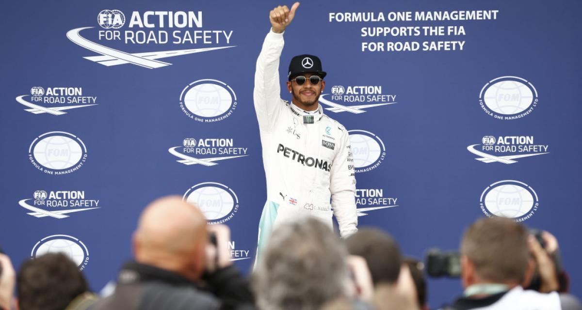 Grand Prix d'Abu Dhabi de F1 : Hamilton arbore le numéro 1 sur l'avant de sa monoplace