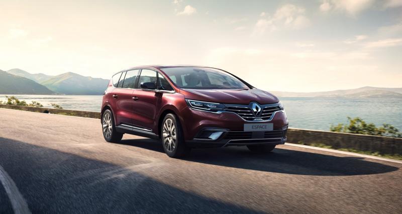 Renault Espace 5 restylé : le monospace en 3 points