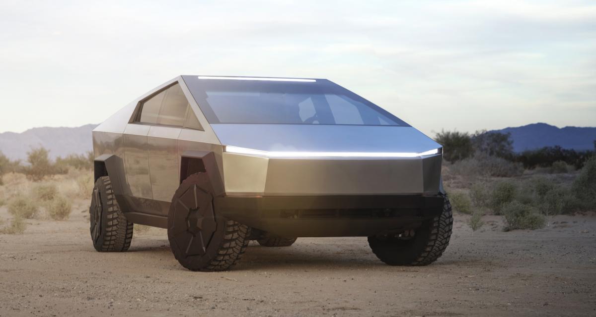 Tesla Cybertruck : le pick-up électrique en 4 points