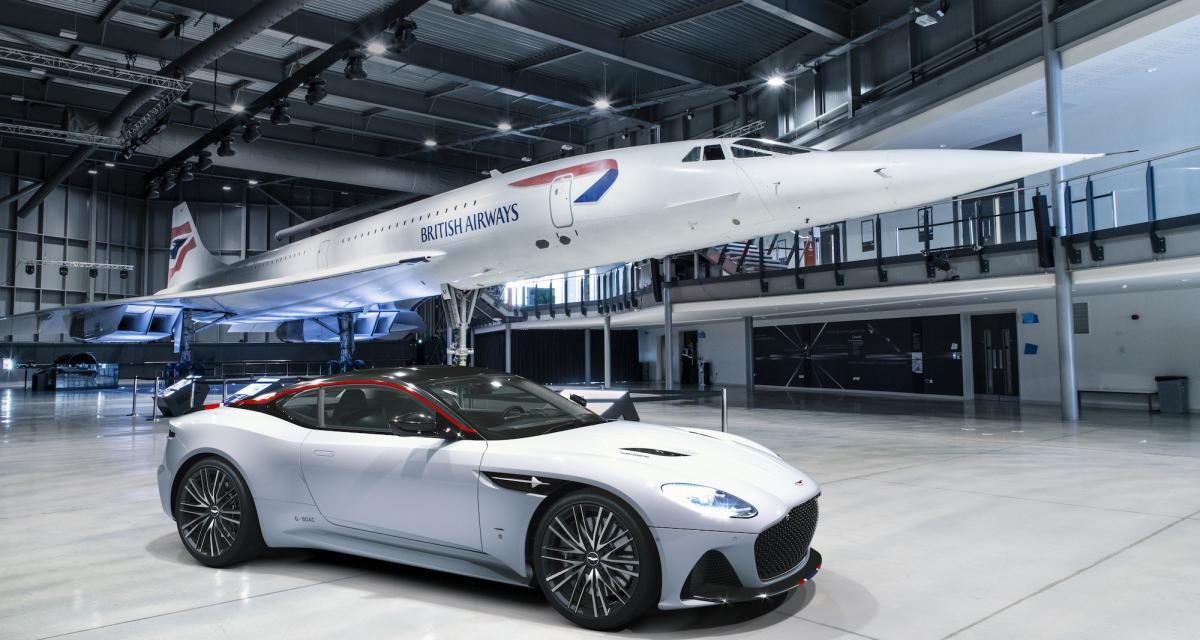 Aston Martin DBS Superleggera : l'hommage au Concorde en 3 points
