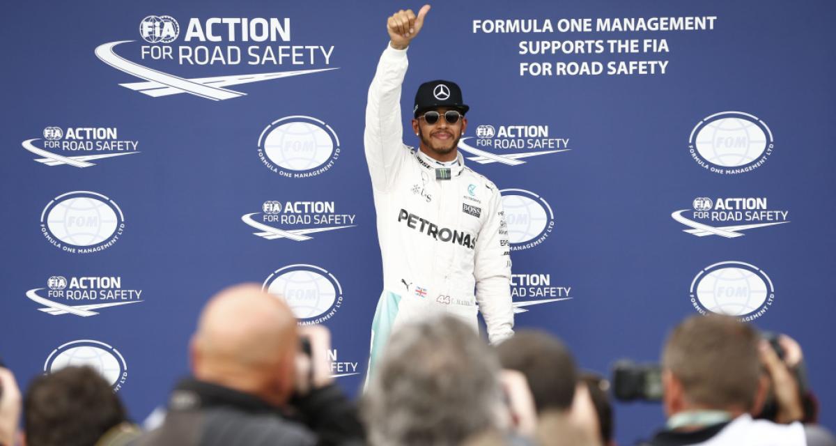 Lewis Hamilton : heureux de recevoir des compliments de Ferrari !