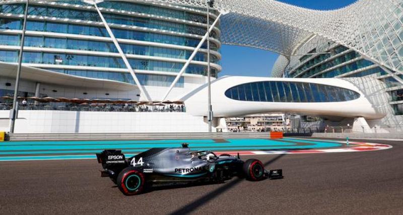 Grand Prix d'Abu Dhabi de F1 : la réaction d'Hamilton après sa 11ème victoire de la saison !