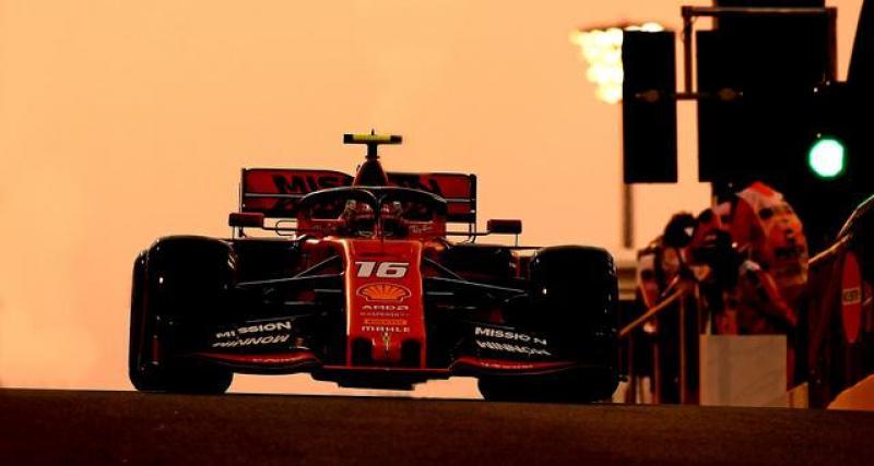 Grand Prix d'Abu Dhabi : la réaction de Charles Leclerc après sa 3ème place !
