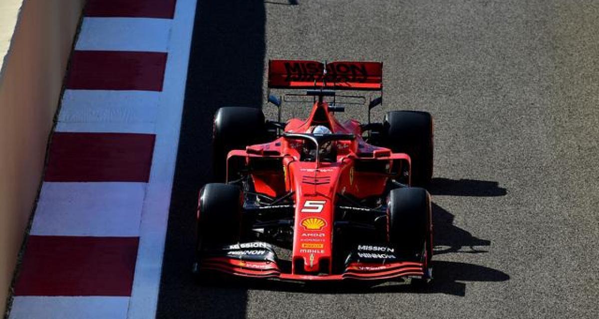 Grand Prix d'Abu Dhabi : Vettel pense déjà à la saison prochaine
