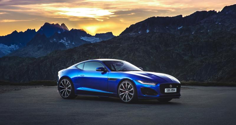 Jaguar F-Type restylée : un animal sauvage au regard acéré