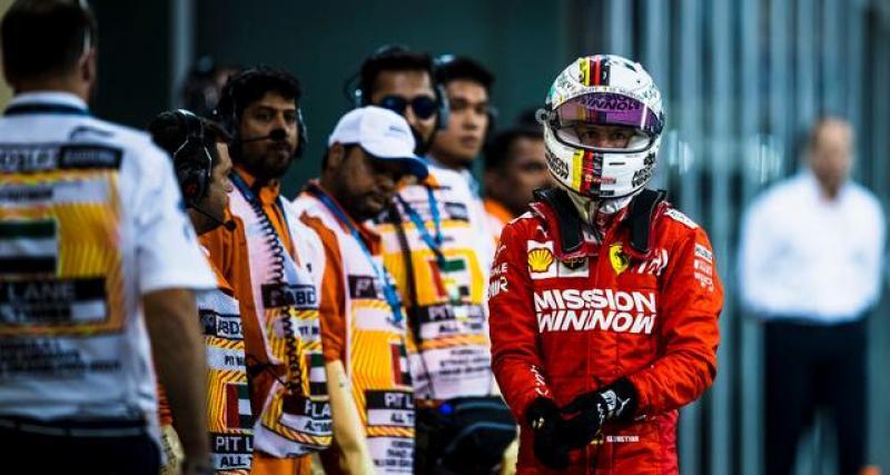Vettel déjà dans le dur