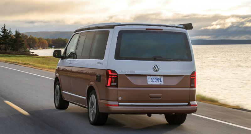 Les tarifs du Volkswagen California Ocean