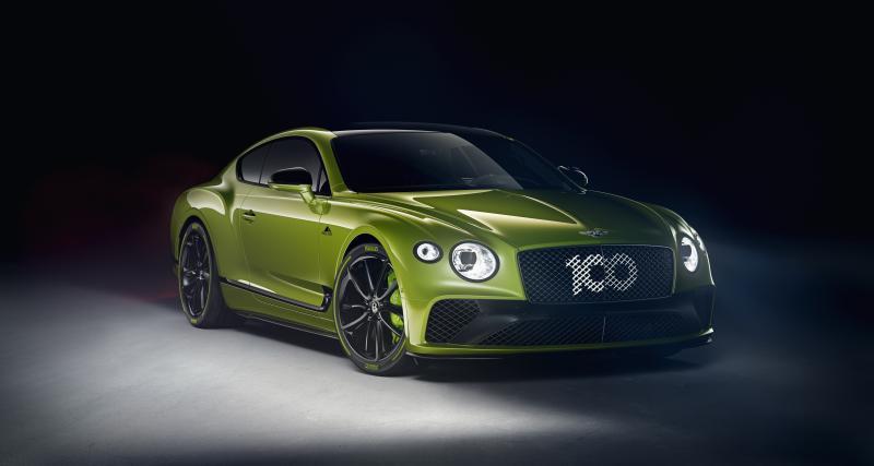 Bentley Continental GT : 15 exemplaires exclusifs pour le record de Pikes Peak