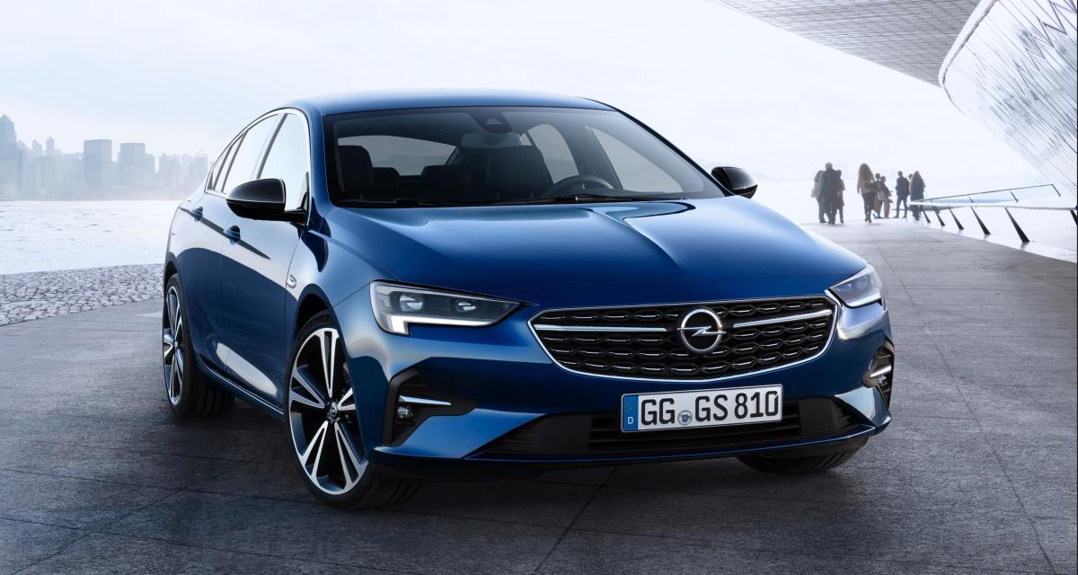 Opel Insignia : un restylage à base de feux à LED intelligents