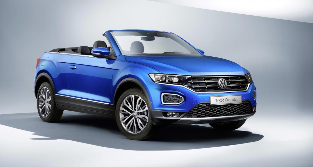 Volkswagen T-Roc Cabriolet : la production démarre !